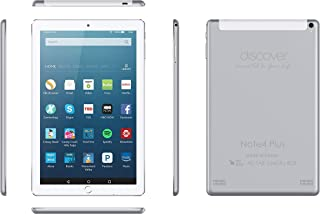 Discover Note 4 Plus, Quad Core, Dual Sim, Dual Camera,Tablet 10.1 Inch smart tablet pc, Android 8.1, 64GB, 4GB DDR3, 4G L...