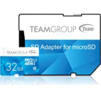 Team Group Color 32GB UHS-I / Class 10 533x MicroSDHC Memory Card (TCUSDH32GUHS40)