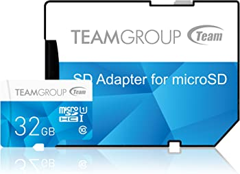 Team Group Color Card 32GB MicroSDHC Card