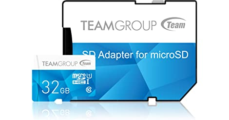 Team Group Color Card 32GB MicroSDHC Card only $3.99