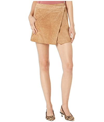 Blank NYC Real Suede Mini Skirt in Almond (Almond) Women