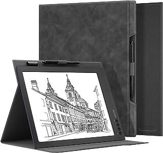 OLAIKE skóra dotyk uczucie składane etui do BOOX Max2 Pro 13,3 cala papierowy tablet, wysokiej jakości skóra PU lekka osło...