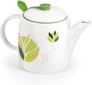 Charles Viancin Silicone Tea Pot Tea Range Camellia, 2 cups