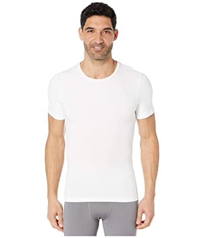 Spanx for Men Cotton Compression Crew (White) Men