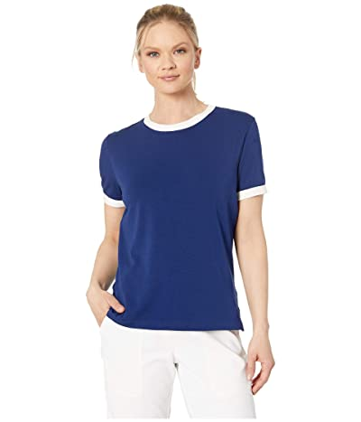 Nike Golf Dry Short Sleeve Ringer Top (Blue Void/Sail/Blue Void) Women
