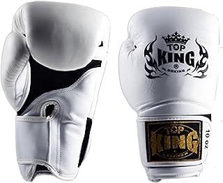 """Top Kingタイ式"""" Super Air """"ボクシンググローブ–tkbgsa-111–ホワイト"""