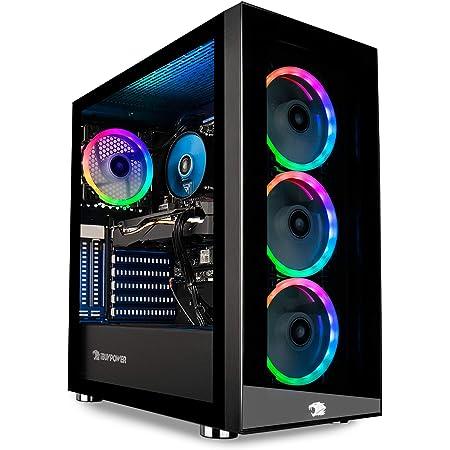 iBUYPOWER Gaming PC Computer Desktop Element MR 9320 (Intel i7-10700F 2.9GHz, NVIDIA GTX 1660 Ti 6GB, 16GB DDR4 RAM, 240GB SSD, 1TB HDD, Wi-Fi Ready, Windows 10 Home) , Black
