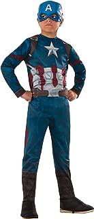 Rubie's Costume Captain America: Civil War Value Captain America Costume, Medium