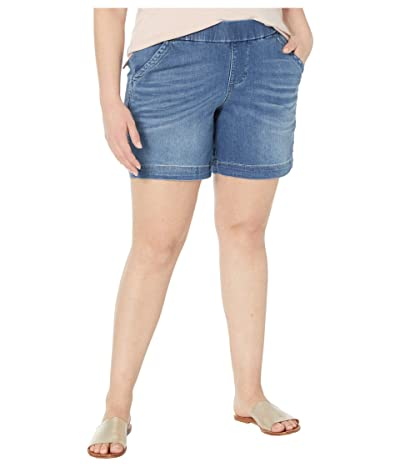 Jag Jeans 8 Plus Size Gracie Pull-On Shorts (Mission) Women