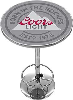 Trademark Gameroom Coors Lights Chrome Pub Table