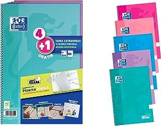 Oxford Pack 4+1 Cuadernos Fº Te School Write&Erase 80H