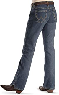 Women's Cash Mid Rise Vented Hem Ultimate Riding Jean