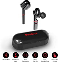 $29 » Wireless Earbuds, Basskye Bluetooth 5.0 Earbuds with Charging Case TWS Stereo Headphones in-Ear Built-in Mic Headset Premium Sound with Deep Bass for Sport