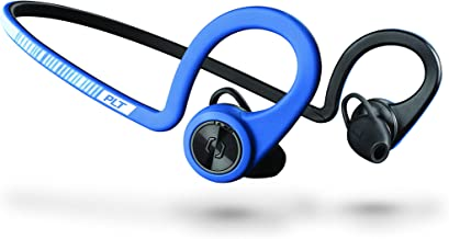 Plantronics BackBeat FIT Training Edition Sport Earbuds, Waterproof Wireless Headphones, Access to Interactive Audio Coaching from The PEAR Personal Coach App, Power Blue