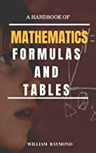 The Hand Book Of Mathematics Formulas And Tables For Numerical Solving