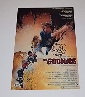 Richard Donner Signed Autograph THE GOONIES 11X17 Movie Poster Photo Beckett COA