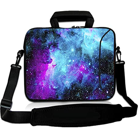Lovely Dog Laptop Case,Fashion MacBook Shoulder Bag,Compatible Briefcase Sleeve with Removable Belt Versatile Canvas Notebook Sleeve with 2 Outer Pocket 13 Inch