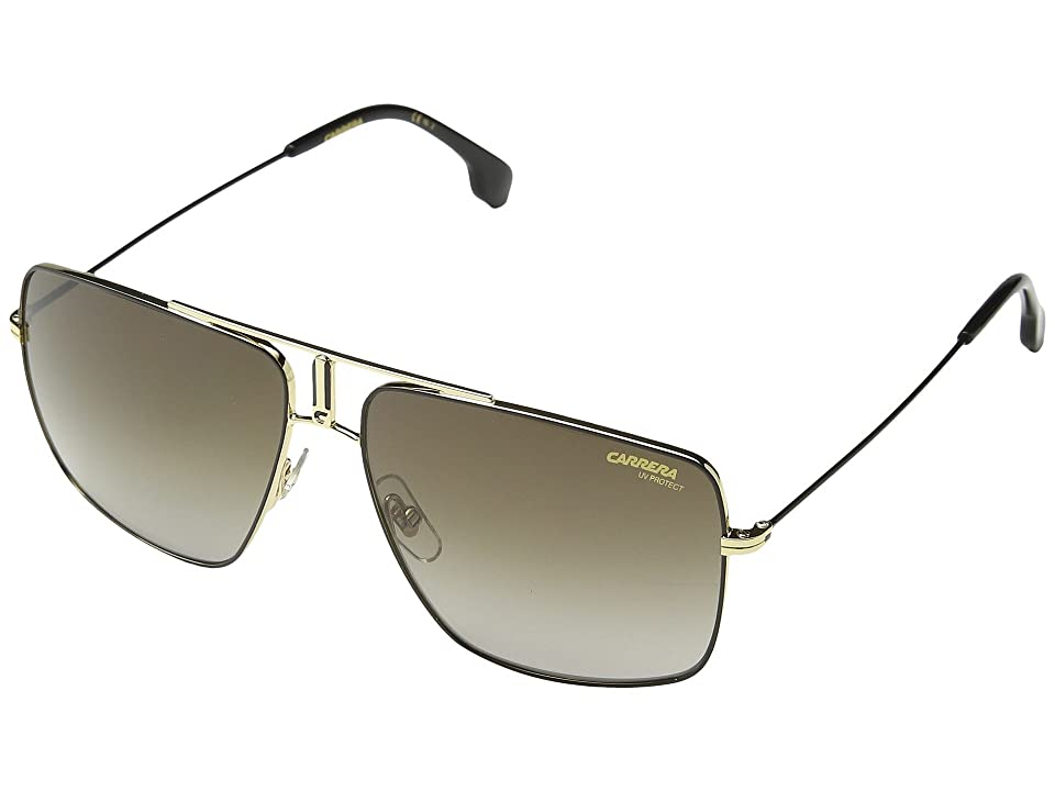Carrera Carrera 1006/S (Black/Gold with Brown Gradient Lens) Sport Sunglasses