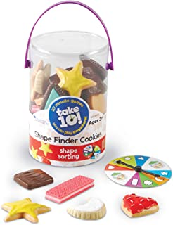 """Learning Resources LER9444-D Take 10! Shape Finder Cookies Game 5"""""""