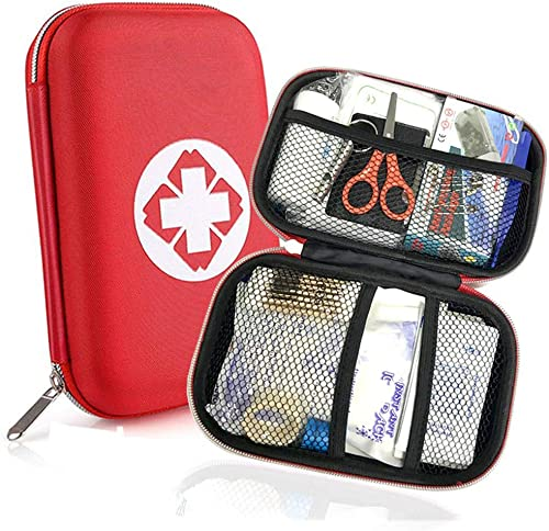 Th-some JAANY Botiquín de Primeros Auxilios de artículos, Survival Tools Mini Box Kit Bolsa Médica para Emergencias p...