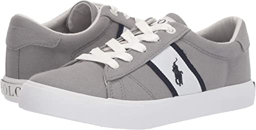 Grey Canvas/White/Navy/Navy Pony