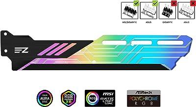 EZDIY-FAB Soporte de Tarjeta gráfica ARGB, Soporte de GPU, sincronización de Tarjeta de Video RGB Sag-Sync con Placa Base 5V 3pin