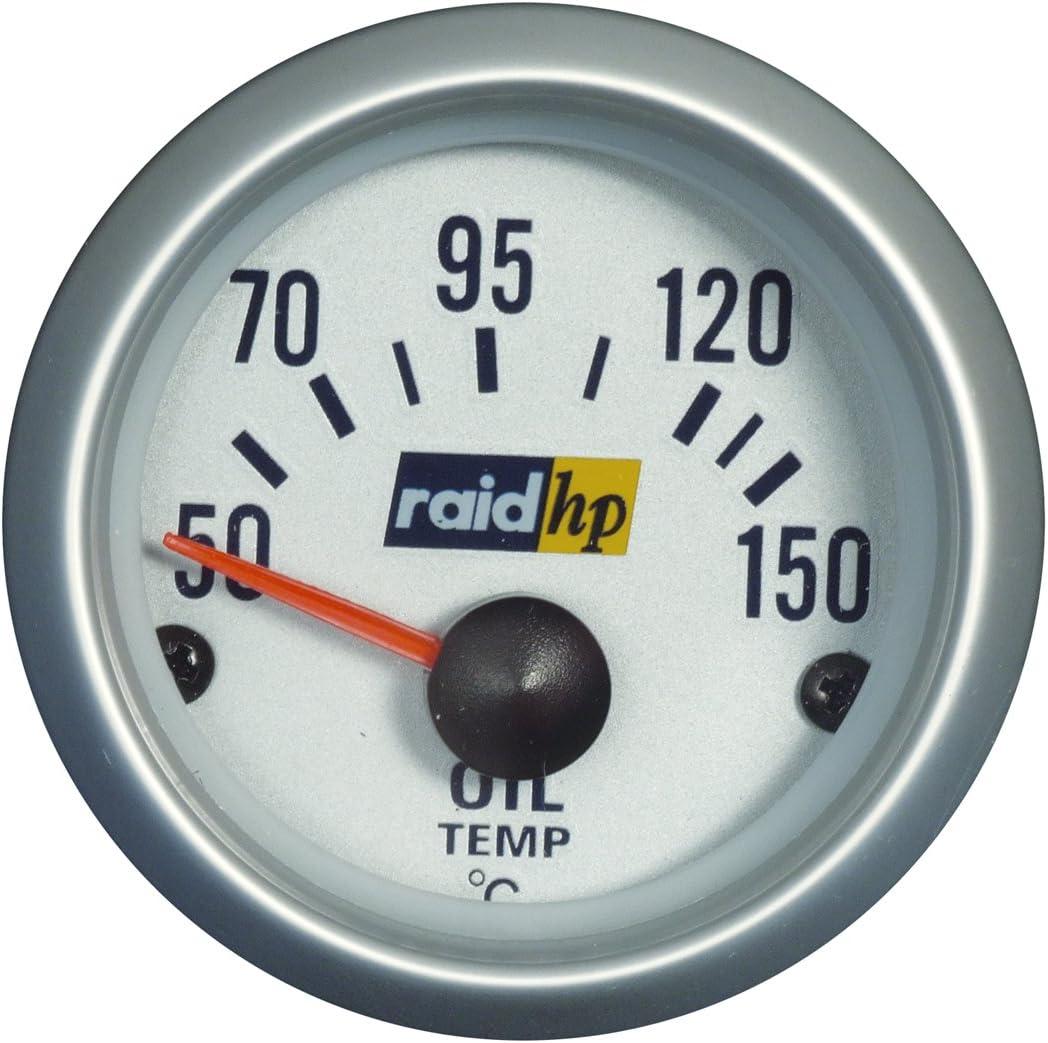 Raid Hp 660223 Voltmeter Zusatzinstrument Silver Line Auto
