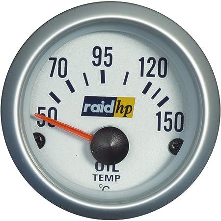 Raid Hp 660175 Zusatzinstrument Öltemperaturanzeige Serie Sport Auto