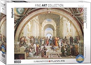 1000ピース ジグソーパズル アテナイの学堂 ラファエル 6000-4141
