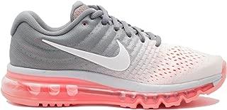 Nike Women's Air Max 2017 Running Shoe Pure Platinum/White-Cool Grey-HOT Lava 8.0