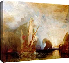 ArtWall 'Ulysses Deriding Polyphemus' Gallery-Wrapped Canvas Art by William Turner, 12 by 18-Inch