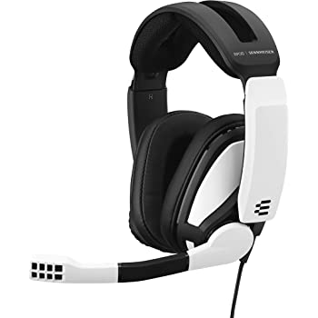EPOS I Sennheiser GSP 301 Gaming Headset with Noise-Cancelling Mic, Flip-to-Mute, Comfortable Memory Foam Ear Pads, Headphones for PC, Mac, Xbox One, PS4, PS5, Nintendo Switch, Smartphone compatible
