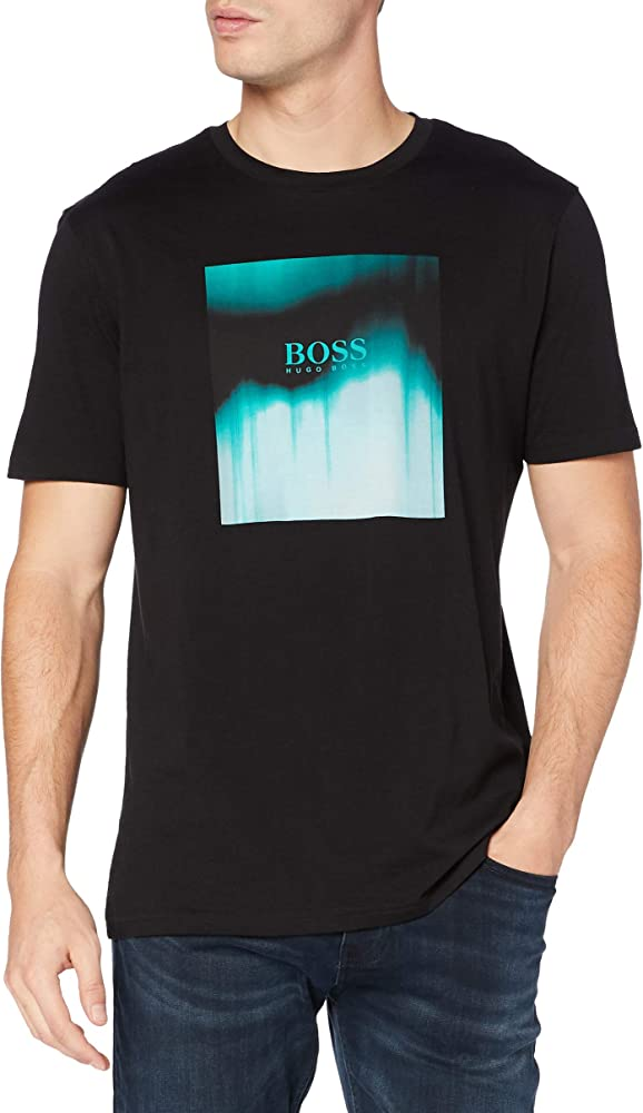Boss,maglietta, t-shirt a maniche corte per uomo,100% cotone 50446474