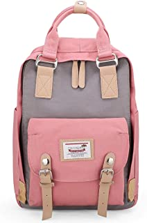 Laptop Backpack 15.6 Inch Wide Open Computer Backpack Laptop Bag College Rucksack Water Resistant Business Travel Backpack Multipurpose Casual Daypack with USB Charging Port for Women Men
