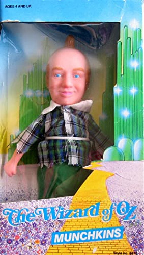 The Wizard of Oz Lollipop Kid Munchkins (1988 Multi Toys)