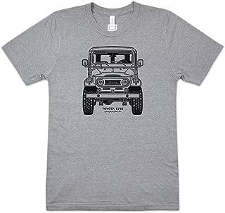 GarageProject101 Toyota FJ40 Land Cruiser Front T-Shirt