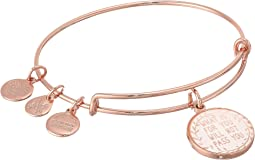 Alex and Ani What Is for You Will Not Pass You II Bangle Bracelet