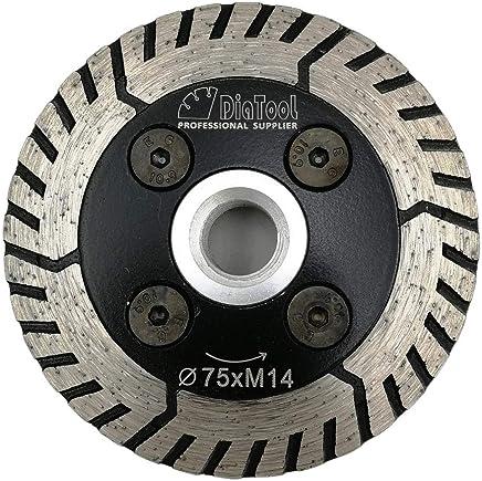 SHDIATOOL Disco Tronzador de Diamante 125mm con X Malla Turbo Hoja de Sierra para Porcelana Azulejos Cer/ámica M/ármol
