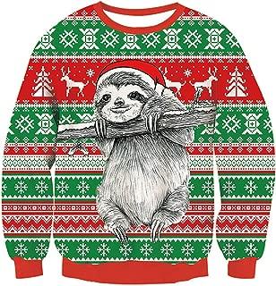 Kids Ugly Christmas Sweater Girls Boys Xmas Knit Pullover Sweatshirts