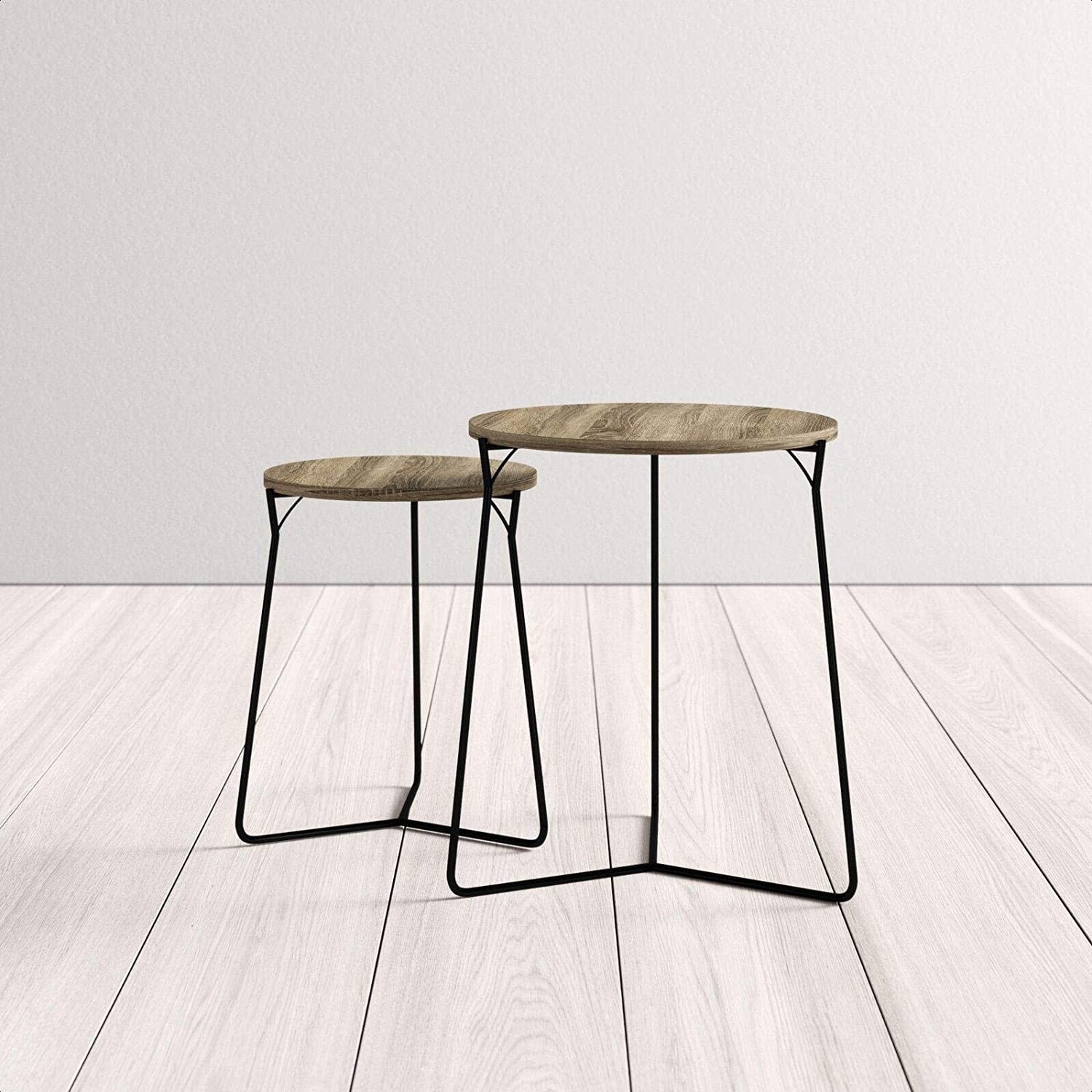 Cheap bargain OFFer Montreal 2 Piece Tables Nesting