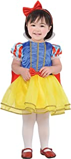 Classic Snow White Halloween Costume for Babies, 12-24 M, Includes Headband