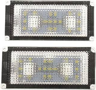 Metermall Automotive Lot de 2 Feux antibrouillard de Rechange pour Pare-Chocs de Voiture 63177248911 63177248912 pour BMW 2012-2015 F20 F30 F31 F34 S/érie 3