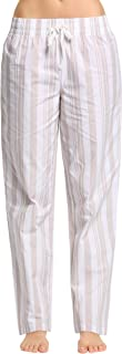 Women's 100% Cotton Woven Sleep Pajama Pants