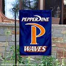 College Flags and Banners Co. Pepperdine Waves Garden Flag