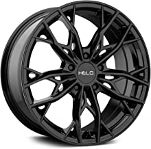 HELO HE907 Gloss Black Wheel Chromium (hexavalent compounds) (18 x 8. inches /5 x 74 mm, 40 mm Offset)