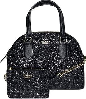 black glitter handbags