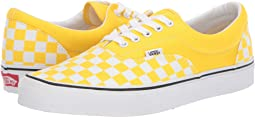 (Checkerboard) Vibrant Yellow/True White