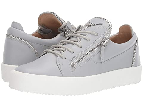 e33e5b21851c5 Giuseppe Zanotti May London Zipper Low Top Sneaker at Luxury.Zappos.com