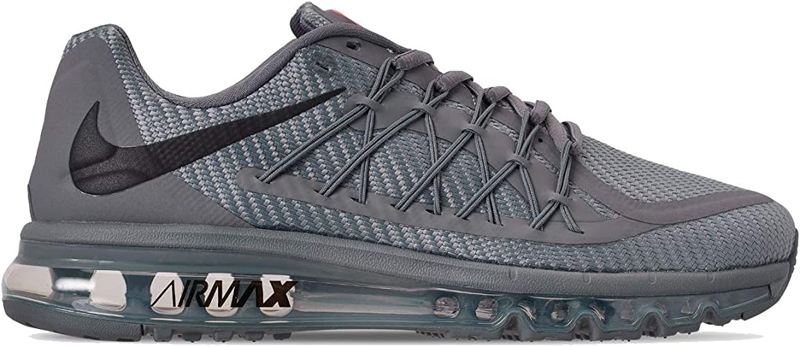 Elegante Dispensación dosis  Amazon.com | Nike Men's AIR MAX 2015 Running Shoe (10.5, Cool  Grey/Black/Bright Crimson) | Road Running