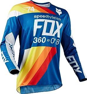 Fox Jersey 360draftr, Blue, Tamaño L